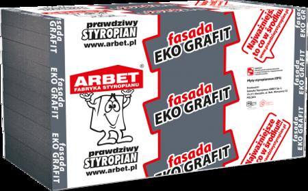 Arbet Styropian FASADA EKO GRAFIT 0,033 19cm