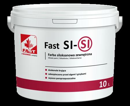 FAST SI-SI farba siloksanowa elewacyjna 10L