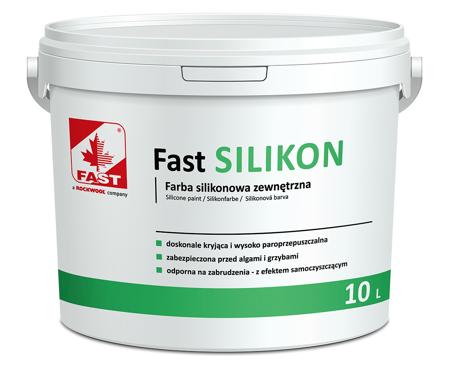 FAST SILIKON farba silikonowa do elewacji 4L