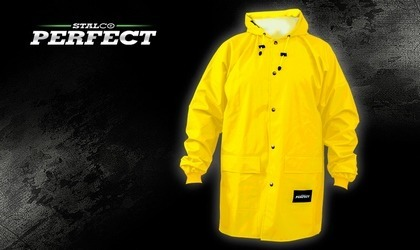 Stalco Kurtka przeciwdeszczowa - żółta