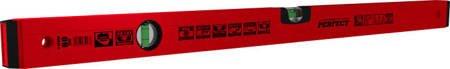 Stalco Poziomica PRO aluminiowa czerwona