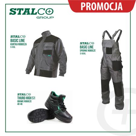 Zestaw Ubrań roboczych jesień zima Stalco Basic