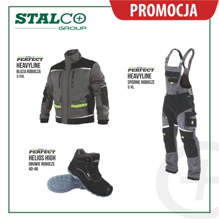 Zestaw Ubrań roboczych jesień zima Stalco Perfect Heavy line